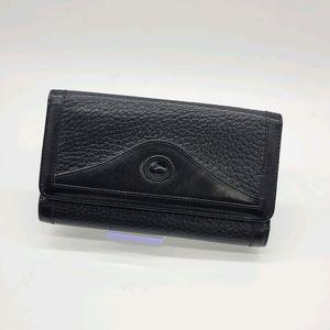Vintage Dooney & Bourke Made in USA Leather Wallet